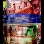 "Bertrand Alberge - plasticien - photomontage - ""Dimanche 17 janvier"""