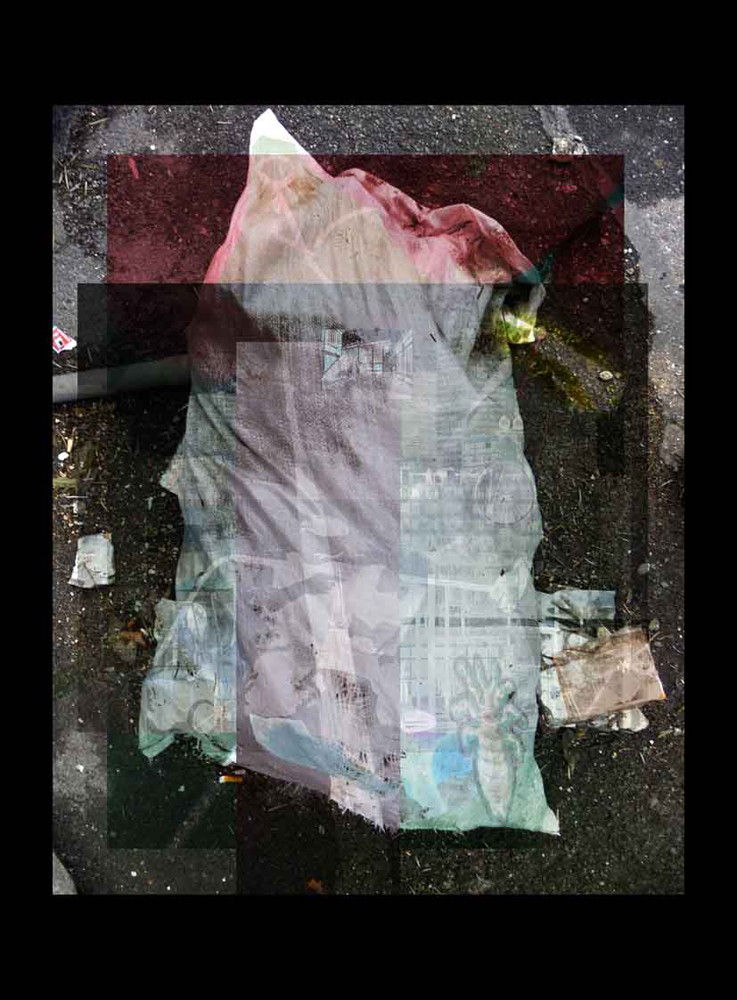 "Bertrand Alberge - plasticien - photomontage - ""Mardi 19 janvier"""
