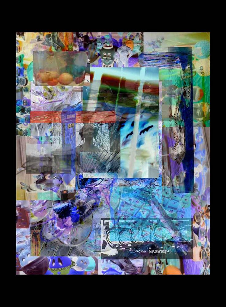 "Bertrand Alberge - plasticien - photomontage - ""Jeudi 21 janvier"""