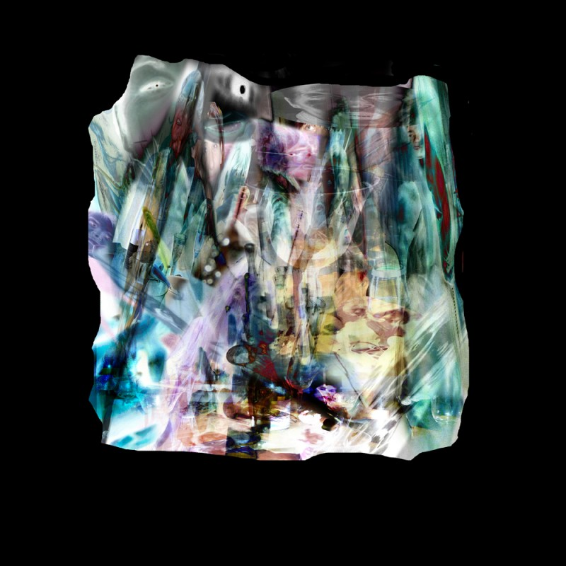 "Bertrand Alberge - plasticien - photomontage - ""Samedi 9 janvier"""