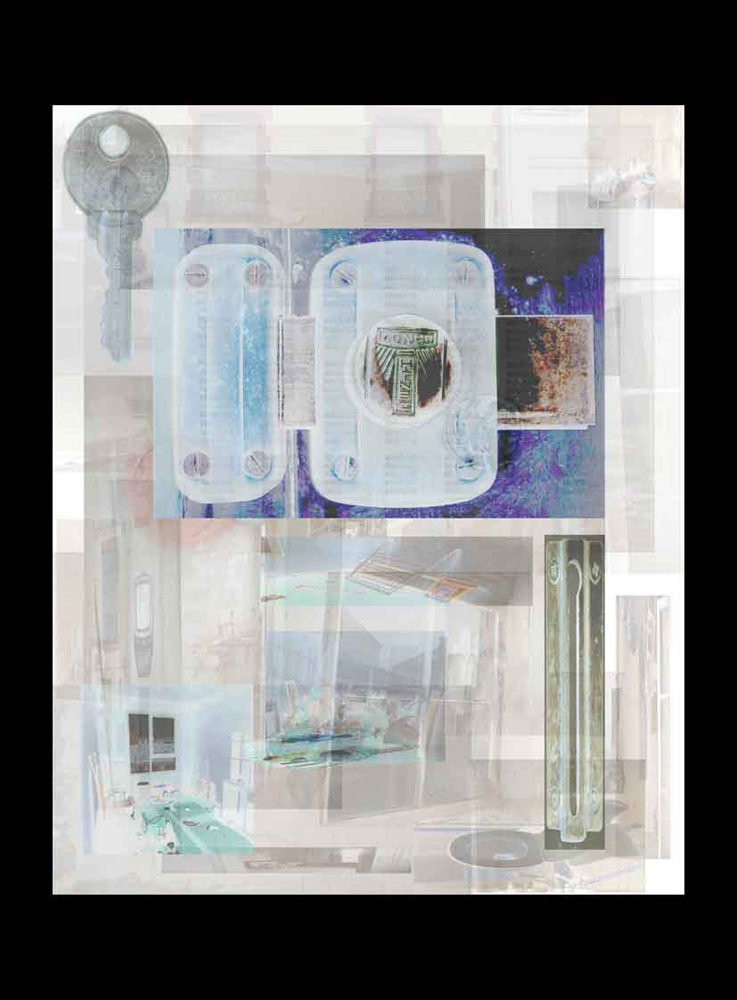 "Bertrand Alberge - plasticien - photomontage - ""Vendredi 5 février"""