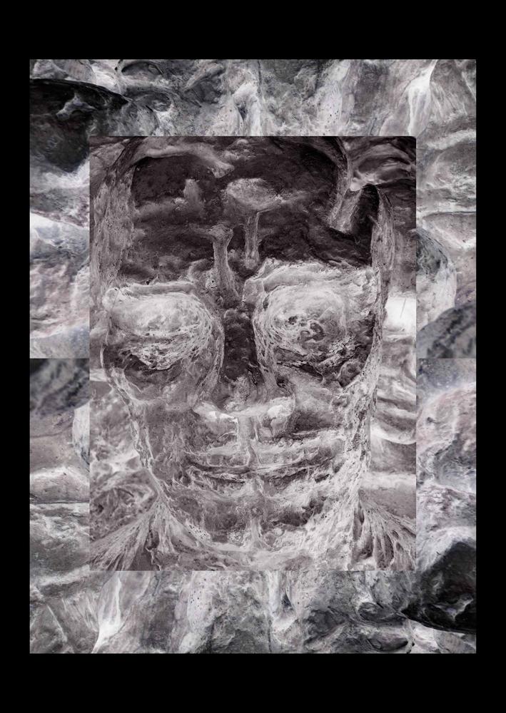 "Bertrand Alberge - plasticien - photomontage - ""Jeudi 11 février"""