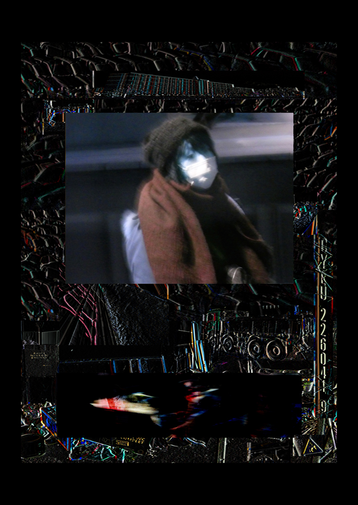 "Bertrand Alberge - plasticien - photomontage - ""Lundi 15 février"""