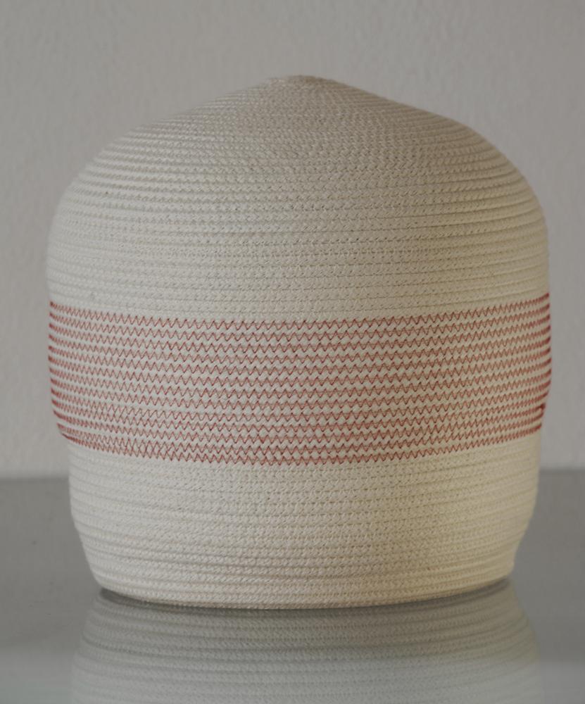"""Bertrand Alberge - plasticien - sculpture de coton - """"Japonaise"""""""