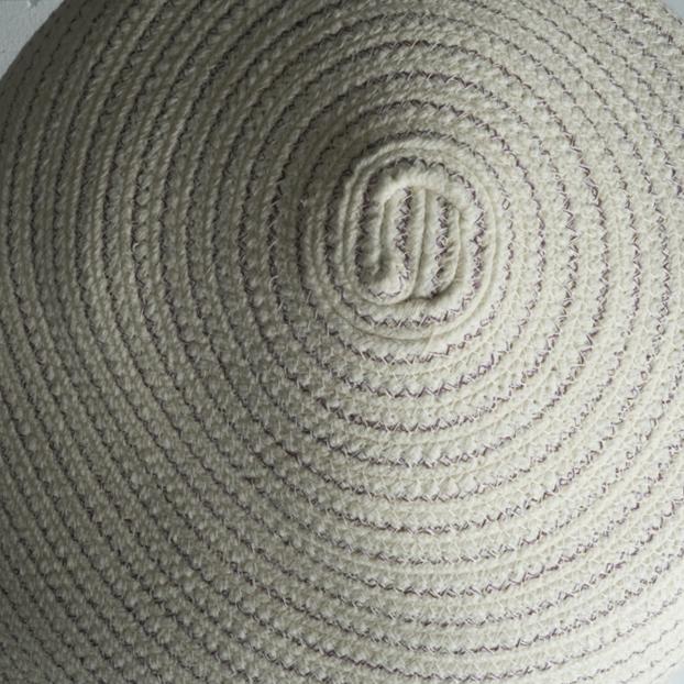Bertrand Alberge - plasticien - sculpture de coton - détails