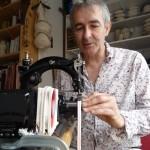 "Bertrand Alberge - plasticien - ""portrait avec Anita B2"" @ F.Gabriel"