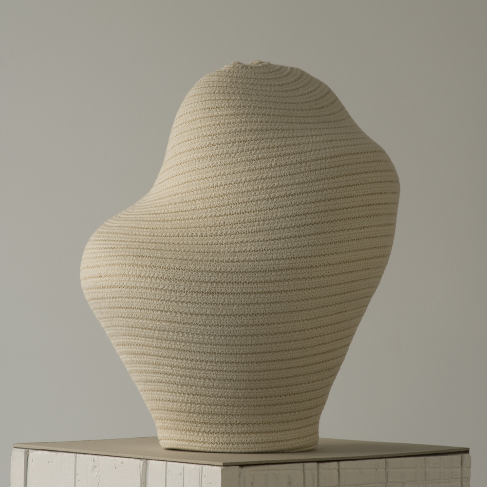 "Bertrand Alberge - plasticien - sculpture de coton - ""Paternité claire"""