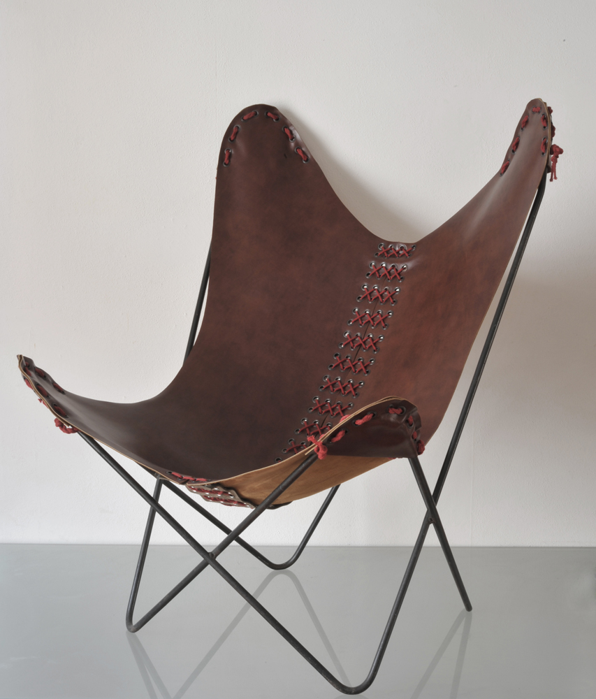 "Bertrand Alberge - plasticien - stylisme - fauteuil ""butterfly"""