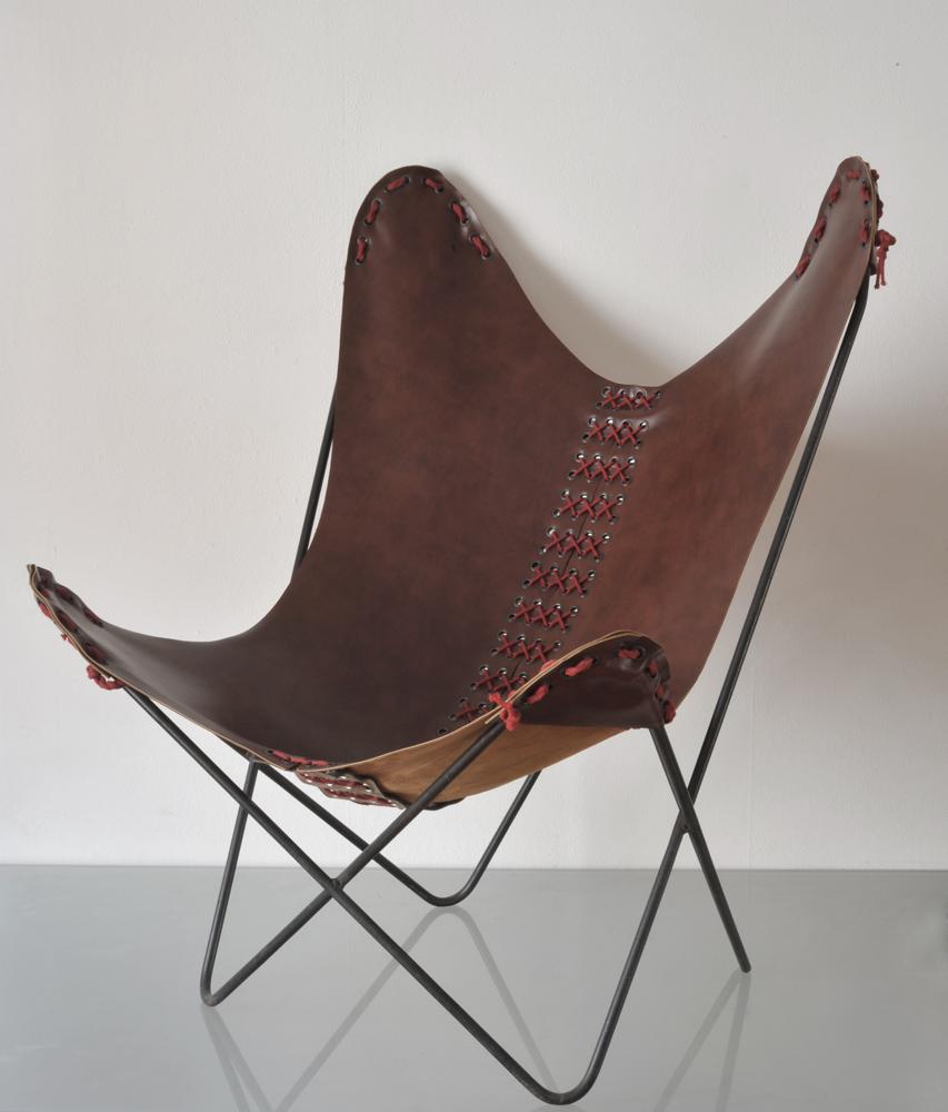 "Bertrand Alberge - plasticien - stylisme - ""fauteuil butterfly"""