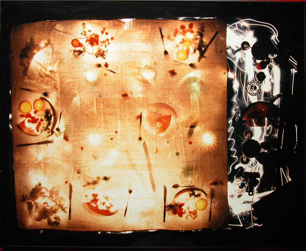 "Bertrand Alberge - plasticien - photographie - ""Repas soleil"""
