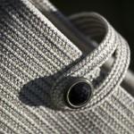 """Bertrand Alberge - plasticien - accessoire - sac - """"Bouton noir"""""""