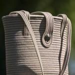 """Bertrand Alberge - plasticien - accessoire - sac - """"Bouton d'argent"""""""