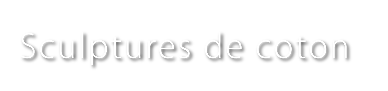 Logo Bertrand Alberge - sculptures de coton